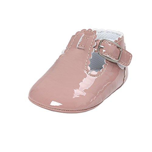 b88e032d44ed6 BaZhaHei Bebé Niña Niños bebé Zapatos de bebé Baby Letter Princess ...