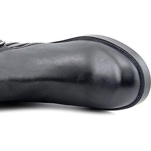 Lucky Brand Hoxy Wide Calf Cuir Botte Black