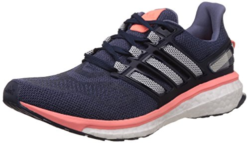 adidas Energy Boost 3, Chaussures de Course Femme Morado / Blanco / Rojo (Morsup / Ftwbla / Brisol)