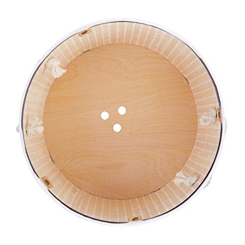 Relaxdays Wäschekorb Bambus rund, faltbar, 80L, 41x65cm - 5