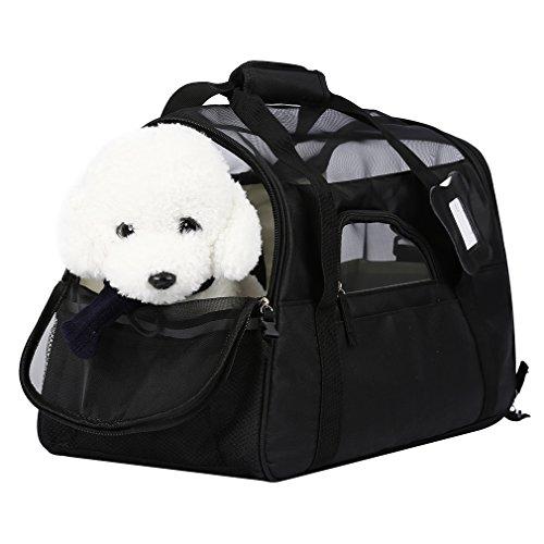 OUTAD Bolsa de Transporte para Mascotas Perros Gatos Transportín Plegable (L)