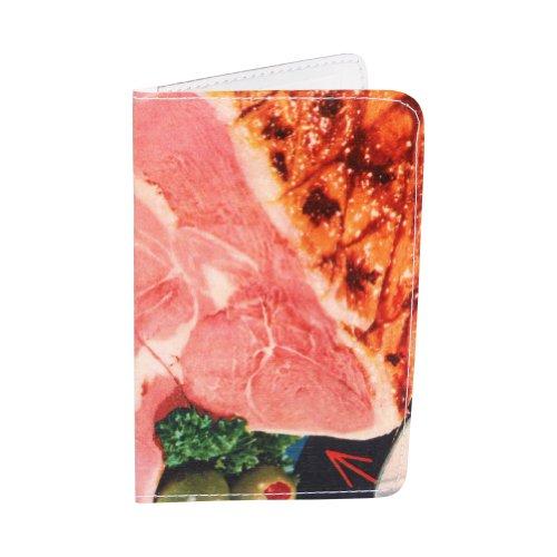 Schinken Abendessen (Kartenetui Klassischer Schinken für Visitenkarten, Ausweise und Kreditkarten)
