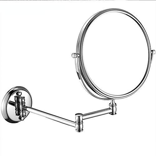 PHILLPS Philips Kosmetikspiegel, zusammenklappbar, Kupfer, für Badezimmer, Doppelspiegel 6_inches a