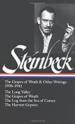 John Steinbeck: The Grapes of Wrath and Other Writings 1936-1941: The Grapes of Wrath, The Harvest Gypsies, The Long Valley, The Log from the Sea of Cortez (Library of America) by John Steinbeck Robert DeMott Elaine A. Steinbeck(1996-09-01)