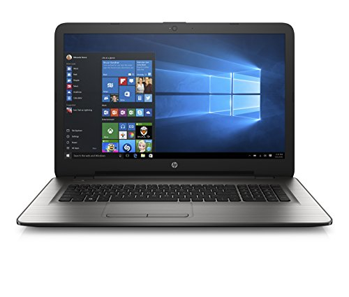 HP 17-x012na 17.3-Inch HD Laptop (Turbo Silver) - (Intel Pentium Quad Core N3710 , 8 GB RAM, 1 TB HDD, Intel HD Graphics Card, Windows 10)