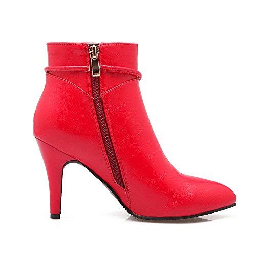 AdeeSu , Bottes Chelsea femme red