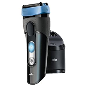 Braun CoolTec CT2cc Wet and Dry Electric Foil Shaver with Clean and Charge Station