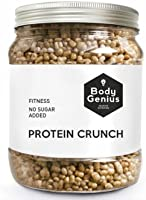 Body Genius PROTEIN CRUNCH (Galleta y Chocolate Blanco). Bolitas de Proteina Recubiertas de Chocolate Sin Azucar. 500 gr