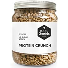 Body Genius PROTEIN CRUNCH (Galleta y Chocolate Blanco). Bolitas de Proteina Recubiertas de