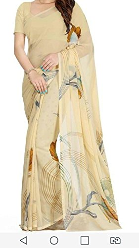 Sarees for Wedding / Party / Festival / Traditional Beautiful Faux Georgette...