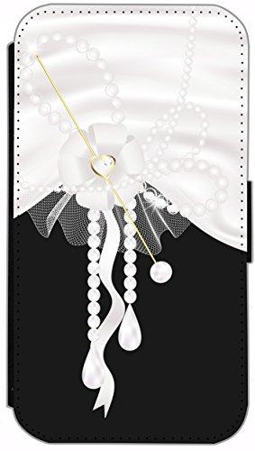 Flip Cover für Apple iPhone 6 / 6S (4,7 Zoll) Design 573 Frosch in rotem Kleid mit Handy Grün Funny Cartoon Hülle aus Kunst-Leder Handytasche Etui Schutzhülle Case Wallet Buchflip mit Bild (573) 563
