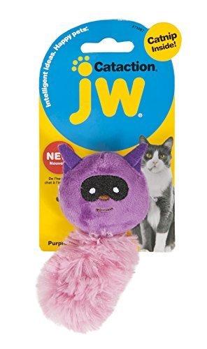jw Cataction Catnip Raccoon Toy, Mehrfarbig by Doskocil