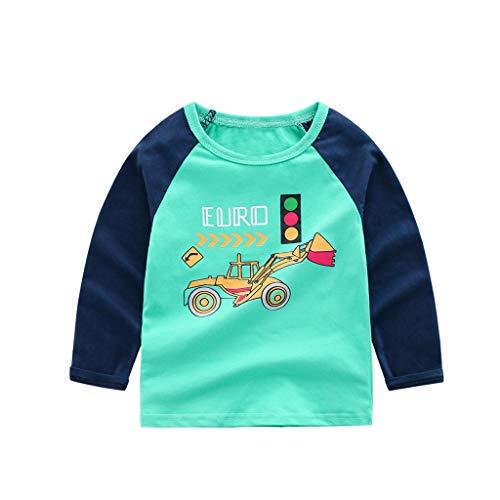 Flash Nette Kostüm - Cuteelf Langärmliges Karikaturdruckhemd der Kinder, das Hemdkinderbaby-Mädchen langärmliges Karikatur T-Shirt Freizeitkleidung Nette beiläufige lose Art und Weise grundiert
