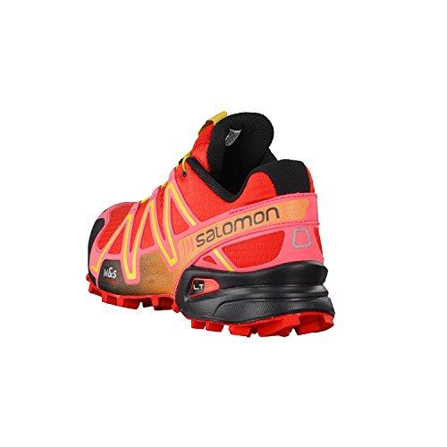 Salomon Speedcross 3 CS L30878700 Damen Sportive Sneakers RADIANT RED/Madder Pink/CORO