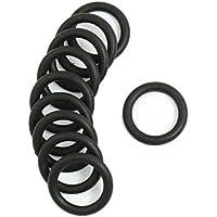 O-Ring Dichtung Unterlegscheiben - TOOGOO(R) 10 Stueck Schwarz Gummi Oil Seal O-Ringe Dichtungen Unterlegscheiben 16x11x2.5mm