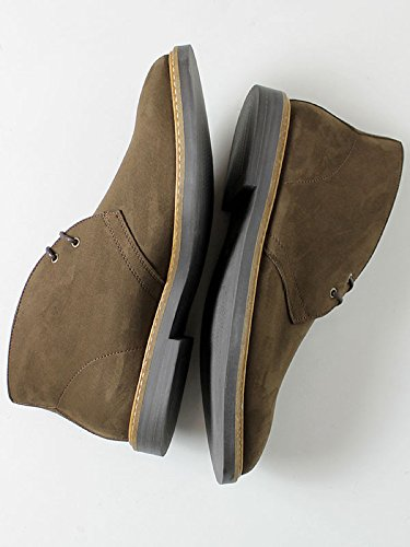 Will's Vegan Shoes Faux Suede Signature Deserts (wide fit)-UK 10/EU 44/US 11
