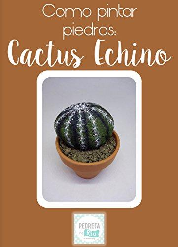Como pintar piedras - Cactus Echino (Erizo) por Pedreta de Riu Susana Puig