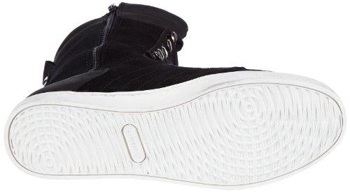 Le coq Sportif Pia Mid Plus 01041138.25Y Damen Sneaker Schwarz (Black)