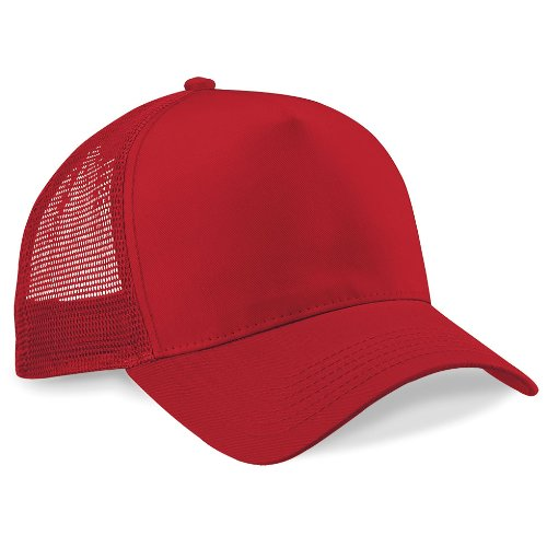 Casquette Snapback Trucker Fashion Rouge