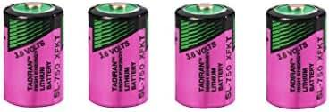 Tadiran SL-750/S piles lithium High Energy SL-750S (1/2 AA) dans boîte sécurité Violet