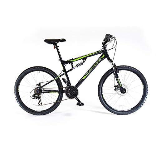 41C4nJE%2BD2L. SS500  - Muddyfox Unisex Adult Livewire Dual Suspension 21 Speed Mountain Bike, 26 Inch