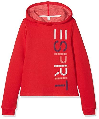 ESPRIT KIDS Mädchen Sweatshirt RM1503508, Rot (Poppy Red 366), 164 (Herstellergröße: L)