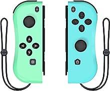Wireless Controller für Switch, ANTCOOL 2er-Set Links Rechts Kabelloser Bluetooth Gamepad Joystick Controller Kompatibel mit Switch