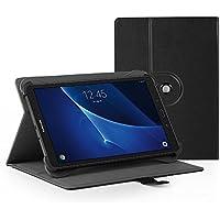 "EasyAcc Funda Universal 10 pulgadas Tablet Case 360 Grados Rotación para Lenovo Tab3 10 Plus 10.1 pulgadas / Lenovo Tab 2 A10-70 / XIDO Z120 / 3G 10 pulgadas / Medion Lifetab S10321 10.1 "" Negro"