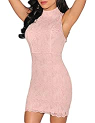 Valin femme Rose SY21556 robe moulante