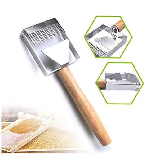 Edelstahl 304 Honig Gabel, Multi-Funktions schneiden Honig Gabel Barb für Imker Honig Messer schneiden