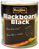 Rustins 250ml Quick Dry Blackboard Paint - Black