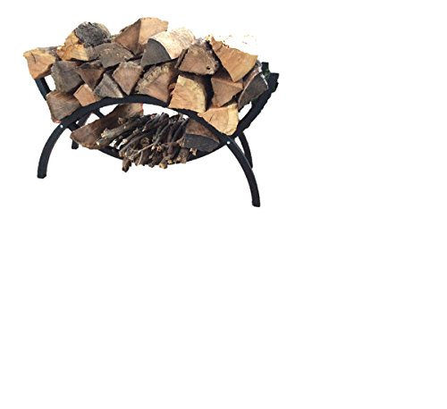Woodhaven klein mini Crescent Brennholz Rack (Woodhaven Log-rack)