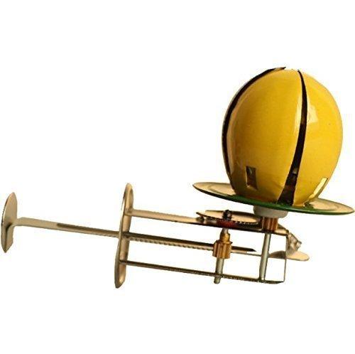 UChic 1 Stücke Klassische Blechspielzeug Hand Pushing Lotus Wind Up Zinn Huhn Shell Spielzeug Küken In Shelling Stahl Zinn Spielzeug Sammlung - Wind-up Zinn Spielzeug