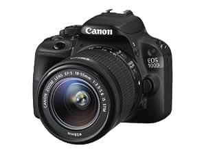 Canon - EOS 100D - Appareil Photo Numérique - Réflex 18,4 MP + Objectif - EF-S 18-55 mm IS STM - Noir