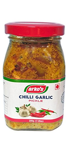 Arkos Homemade Chilli Garlic Pickle, 200g