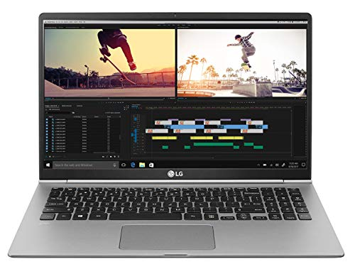 "Foto LG Gram Laptop 15Z990 Notebook, Display 15.6"" Full HD IPS, Processore Intel i5-8265U, RAM 8 GB DDR4, SSD 512 GB, Grafica Intel UHD 620, HD Audio con DTS Headphone-X, Windows 10 Home (64bit), Argento"