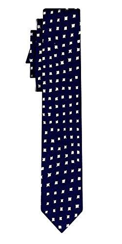 BOSS Seidenkrawatte BOSS polkadot pattern navy