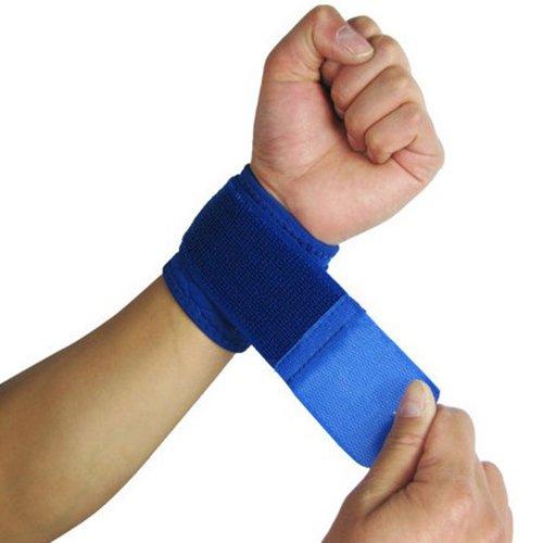 Bodhi2000Unisex Sport Verstellbar Armband Training Fitness Handgelenkbandage Wraps Bandage Träger, blau Sport, Training Armband