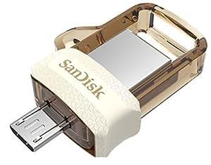 SanDisk Ultra Dual 32GB USB 3.0 OTG Pen Drive (Gold)