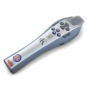 Easy Karaoke Système complet Mini Karaoké - Micro chant et programme intégré de karaoké (multifonction, 40 chansons pré-installées) - Bleu