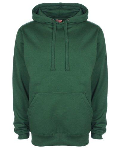 fdm hoodie FDM Unisex Original Hoodie Forest Green 2XL