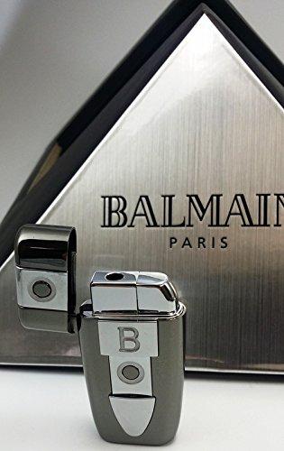 BALMAIN REGENCE Damen-Feuerzeug NEU+OVP Lady-Lighter in Geschenk-Box BLACK ICE (Ice Womens Black)