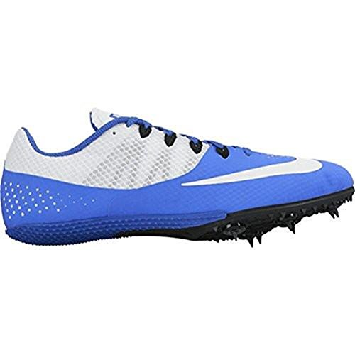 Nike Zoom Rival S 8 Track Sprint Spikes Shoes Blue White Size 13 Mens
