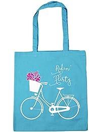 HippoWarehouse Ridin' bolsa al hombro, para la compra, bolsa de playa, etc. 42cm x 38cm, 10litros