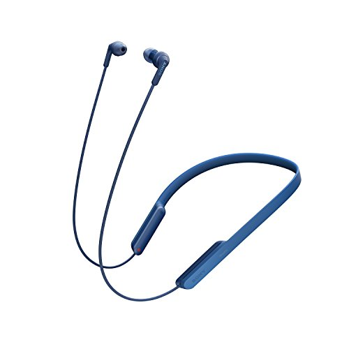 Sony MDR-XB70BT Cuffie intrauricolari Extra Bass Bluetooth, Comandi integrati, Blu