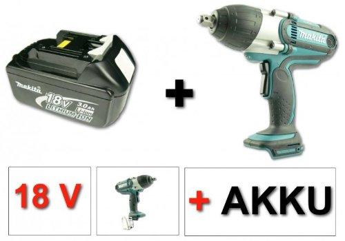Preisvergleich Produktbild Makita BTW 450 18V Li-ion Akku-Schlagschrauber + 1x Makita Akku BL1830