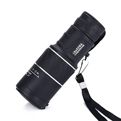 Kimfoxes 18 x 52 Optik Fernglas Monokular Fernrohr Monocular Teleskop Telescopic täglich Wasserdicht kompakt Dual Focus für Vögel / Wildlife/Jagd/Camping/Wandern/Tourismus