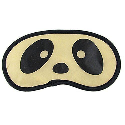 Süsses Panda Gesicht Druck Sanft Schlaf Abdeckung Augen Schatten Maske Flicken (Cartoon Masken Charakter)