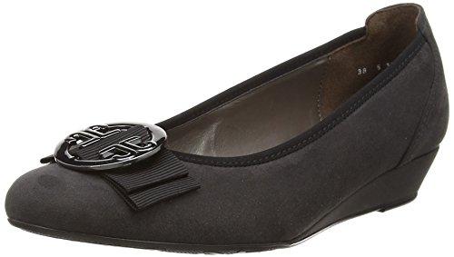 Jenny Livorno, Chaussures à talons - Avant du pieds couvert femme Gris - Grau (grey,cana di fucile 05)