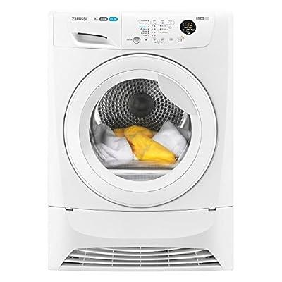 Zanussi ZDC8203WR 8kg Freestanding Condenser Tumble Dryer - White by Zanussi